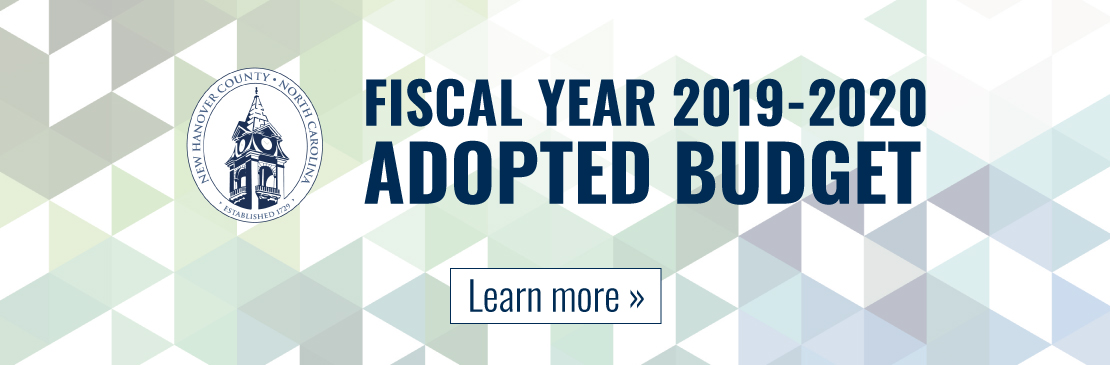 NHC FY2019-2020 Adopted Budget - Click to Learn More
